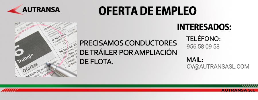 Autransa S L Conductor Transportista Conductor De Trailer